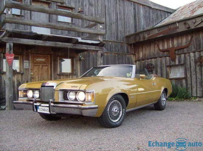 "Ford Mercury Cougar xr7 ""Mustang de luxe"""