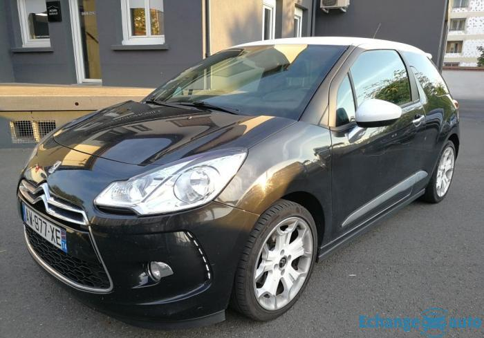 Citroen ds3 1.6l hdi 110 sport chic