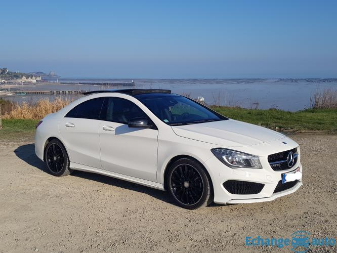 Mercedes CLA 250 fascination AMG sport