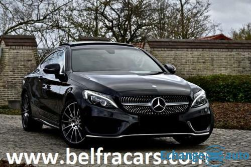 MERCEDES CLASSE C COUPE 200 184ch   PACKAMG/CUIRELECCHAUF/TOPANO/CAM/PAL/PDC/GPS/PARKASSIST/XENON/RE
