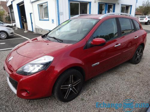 RENAULT CLIO III ESTATE DIESEL 1.5 DCI 85 Exception Quickshift Automatique