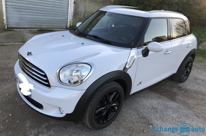 Mini Cooper D  countryman 4ALL 112 ch