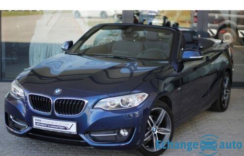 BMW SERIE 2 CABRIOLET F23 Cabriolet 218d 150 ch Sport