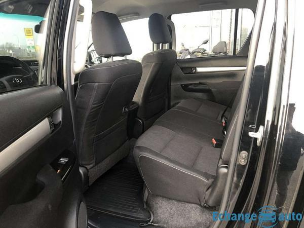 Toyota Hilux IV 4WD 2.4 D-4D 150 DOUBLE CABINE 2018